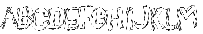 BeatnikHayseed Font UPPERCASE