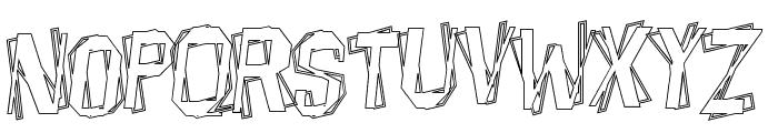 BeatnikHayseed Font LOWERCASE