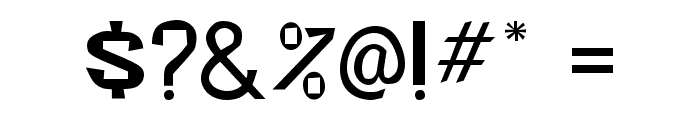 Beatsville Regular Font OTHER CHARS