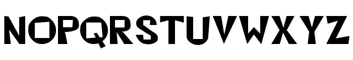 Beatsville Regular Font UPPERCASE
