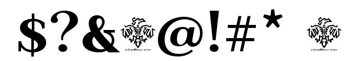 BeaumarisDemo-Regular Font OTHER CHARS