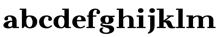 BeaumarisDemo-Regular Font LOWERCASE