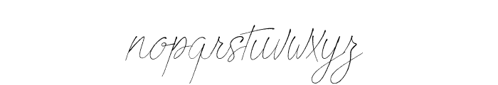 Beautiful Creatures Font LOWERCASE
