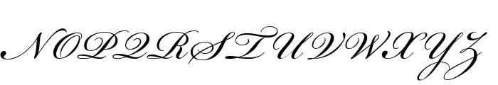 Beautiful ES Font UPPERCASE