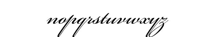 Beautiful ES Font LOWERCASE