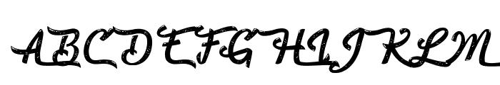 Beautiful Fascination Font UPPERCASE
