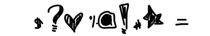 BeautifulLiar Font OTHER CHARS