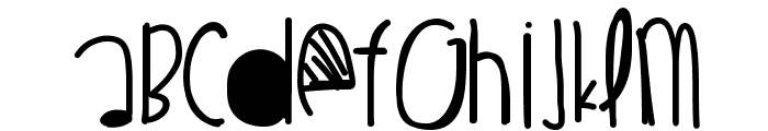 BeautifulLiar Font UPPERCASE