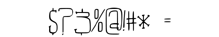 Beautiful_Aria Font OTHER CHARS