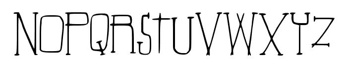 Beautiful_Aria Font UPPERCASE