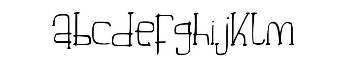 Beautiful_Aria Font LOWERCASE