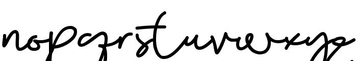 Beauty Boutique Font LOWERCASE