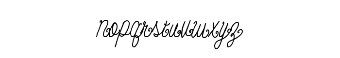 BeautyScript Font LOWERCASE