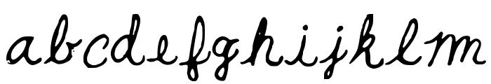 BeautyandtheBeast Font LOWERCASE