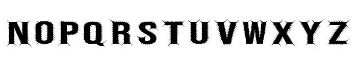 Bebas Centipede Regular Font UPPERCASE