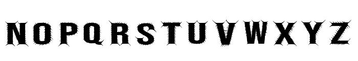 Bebas Centipede Regular Font LOWERCASE