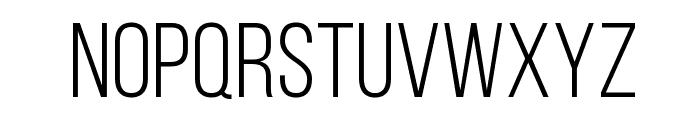 Bebas Neue Book Font UPPERCASE