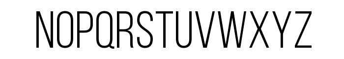 Bebas Neue Book Font LOWERCASE