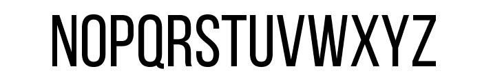 Bebas Neue Regular Font UPPERCASE