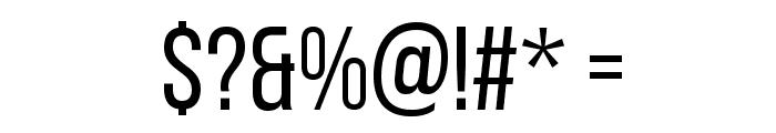 BebasNeueRegular Font OTHER CHARS