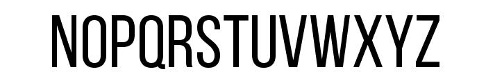 BebasNeueRegular Font LOWERCASE