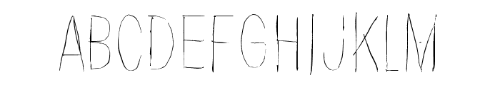 Because the night Font UPPERCASE