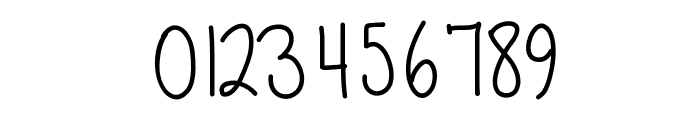 Becca Font OTHER CHARS