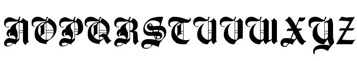 Beckett-Kanzlei Font UPPERCASE