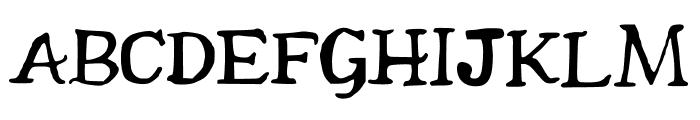 Beckler Font UPPERCASE