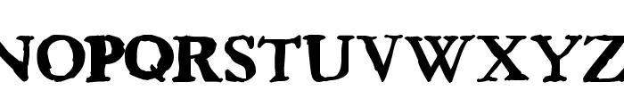 Bedbug Font UPPERCASE