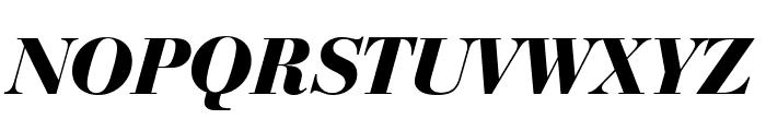 Bedini  Bold Italic Font UPPERCASE