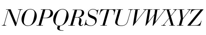 Bedini  Italic Font UPPERCASE