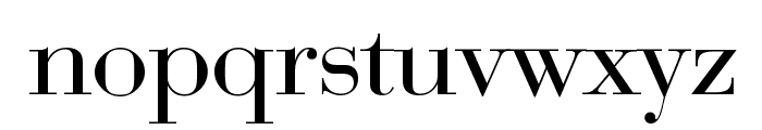 Bedini Font LOWERCASE