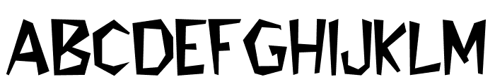 Bedrock-Light Font UPPERCASE