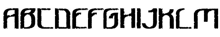 Bee Ridge Vintage Semi-condensed Bold Font UPPERCASE