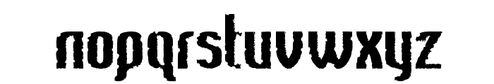 Bee Ridge Vintage Semi-condensed Bold Font LOWERCASE