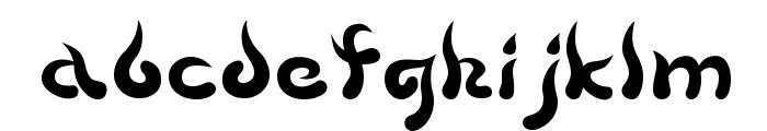 Beech Font LOWERCASE