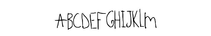 Beedey Font UPPERCASE