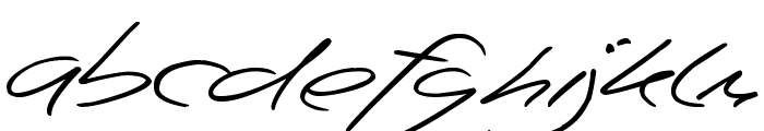 Beep Beep Font LOWERCASE