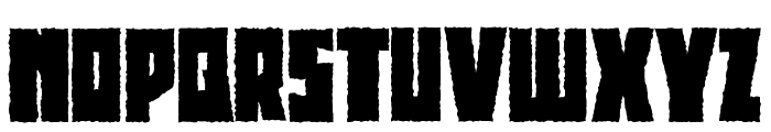 BeethovenRougher Font UPPERCASE
