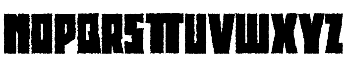 BeethovenRougher Font LOWERCASE