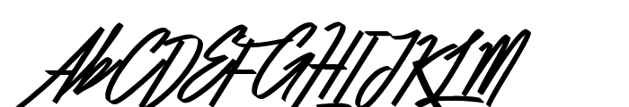 Befitting Demo Font UPPERCASE