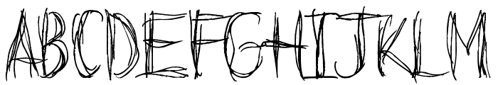 Before I Fall Demo Font UPPERCASE