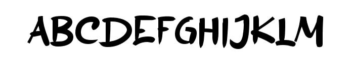 Before Sans Font UPPERCASE