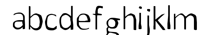 Before Time Font LOWERCASE