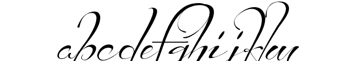 Before the Rain Font LOWERCASE