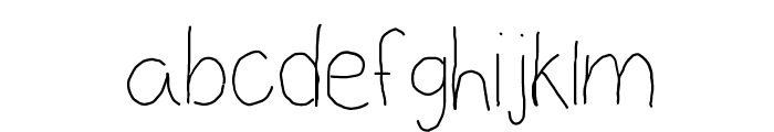 Before the sun rises Font LOWERCASE