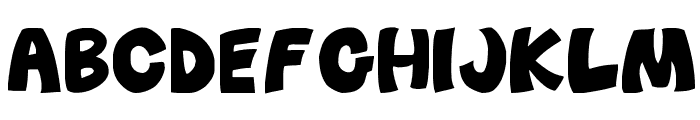 Before_Attack Font UPPERCASE