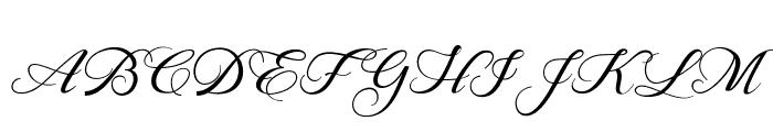 BehindScript Font UPPERCASE