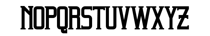 Beholder Bold Font LOWERCASE